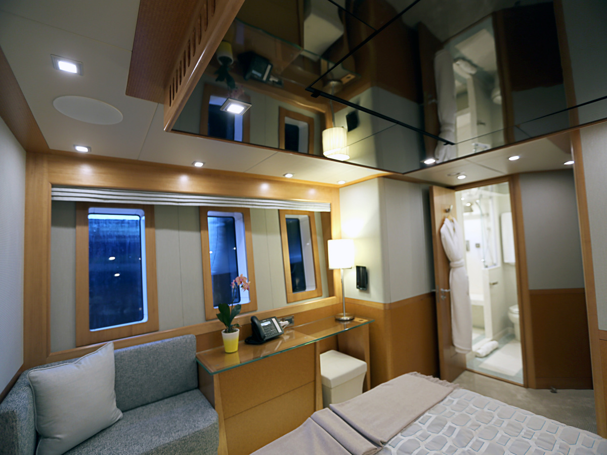 MY SERENITY 133 - Guest cabin view to ensuite