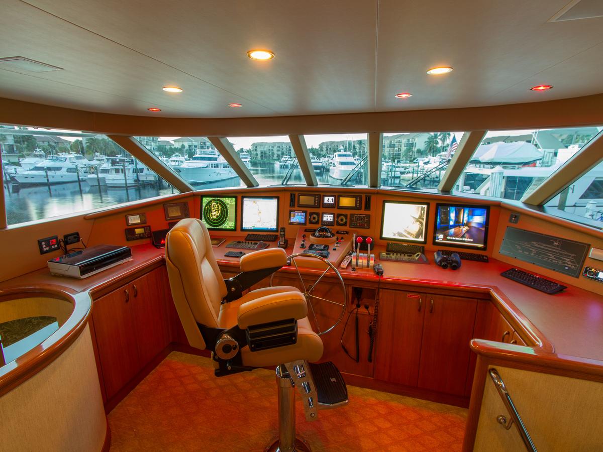 MY WENDY 1 - Bridge deck