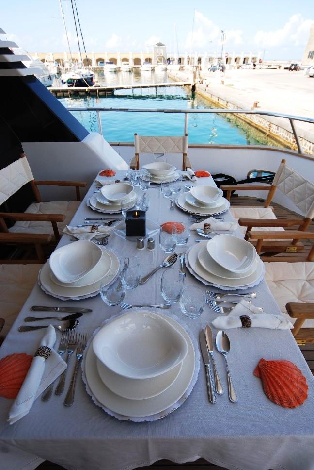 Mablu -  Aft Deck Dining