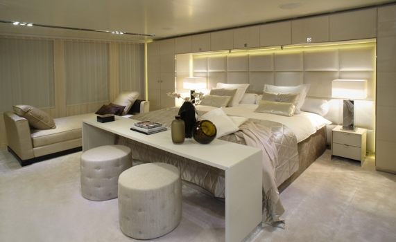 Master Suite - Icon Yacht
