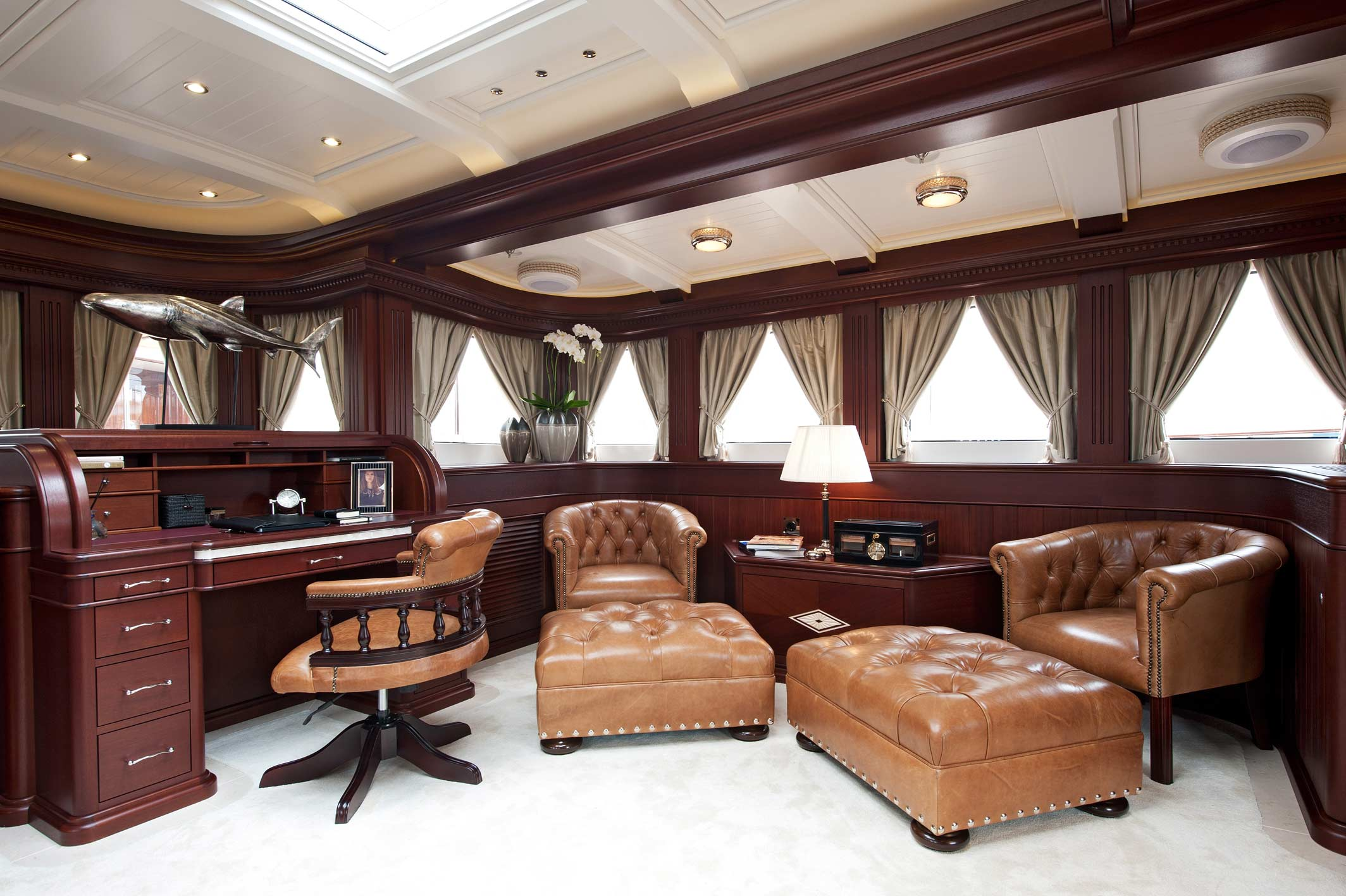 Mikhail S. Vorontsov Yacht - Owners Saloon