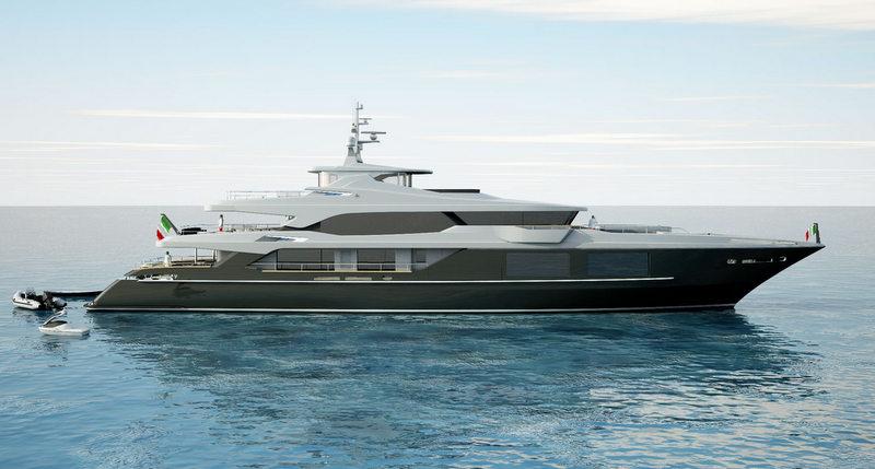Yacht C24 1, a 54m Luca Dini Yacht by Mondo Marine ...