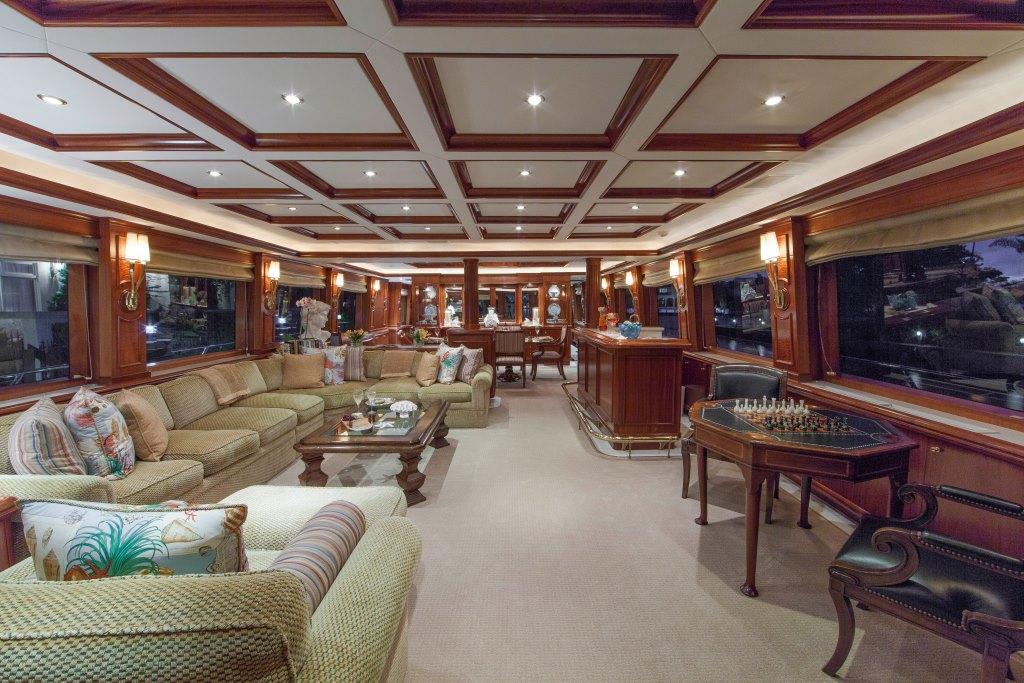 Motor Yacht ASPEN ALTERNATIVE - Salon