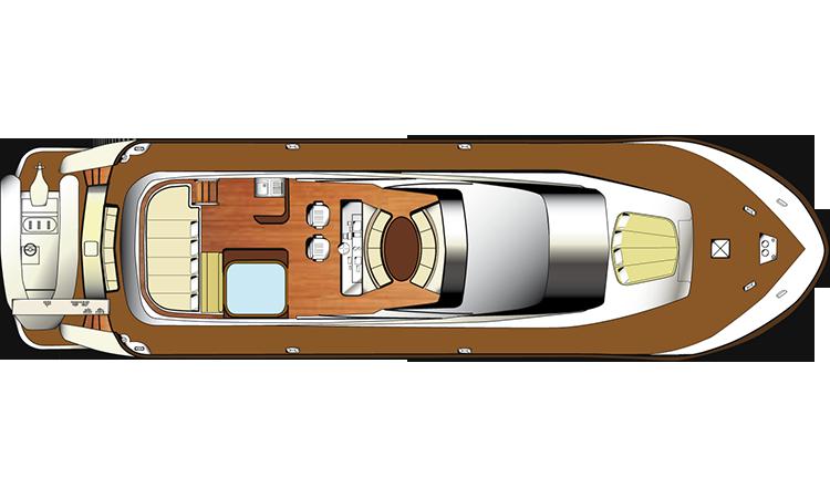 Motor Yacht Aria - Fly Deck