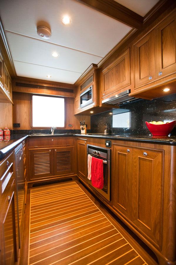 Motor Yacht Aroona Galley