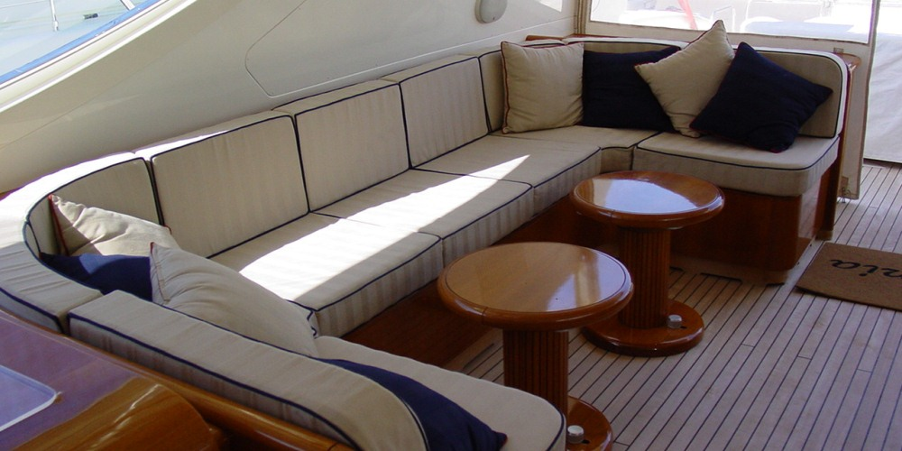 Motor Yacht BELUGA -  Aft Deck
