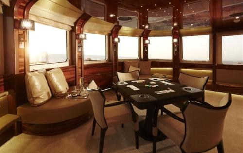 Motor Yacht E&E - Salon detail