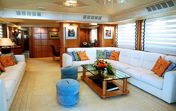Motor Yacht ERATO -  Salon View 2