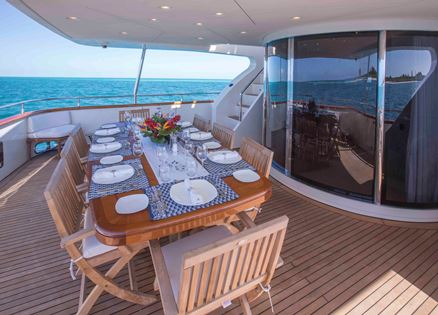 Motor Yacht GRAND BAROSSA - Aft Deck 2