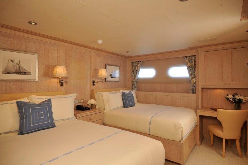 Motor Yacht GRAVITAS -  Twin cabin
