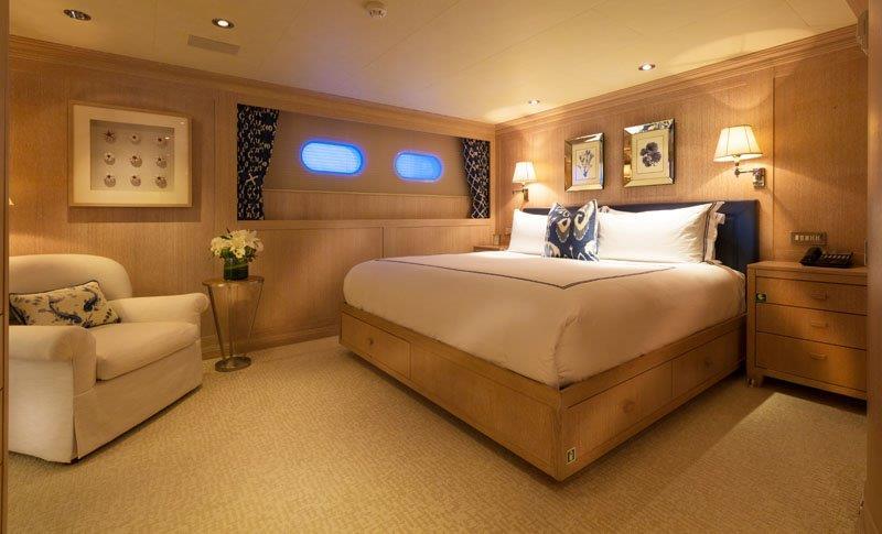 Motor Yacht GRAVITAS - VIP cabin