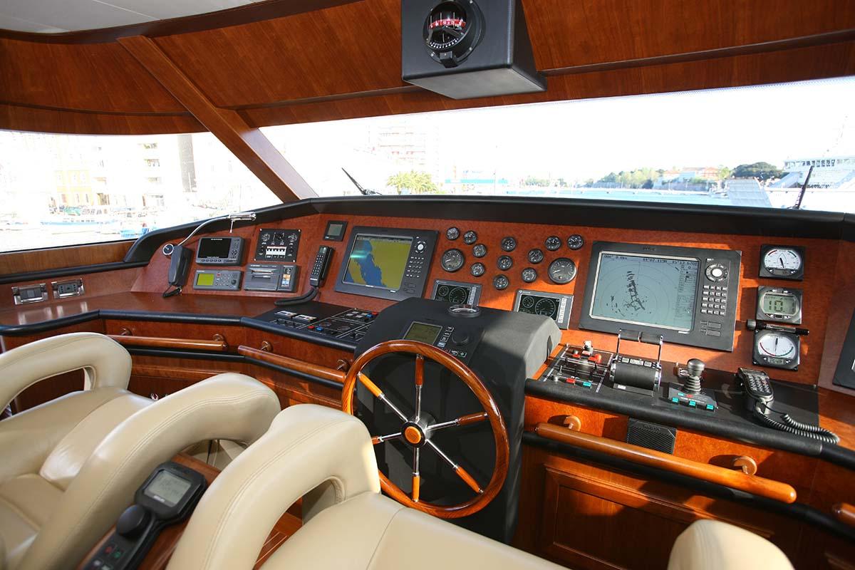 Motor Yacht KLOBUK - Bridge