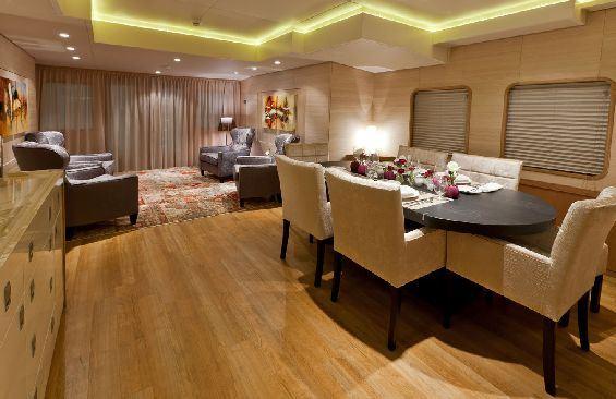 Motor Yacht LARS -  Dining and Salon