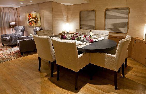 Motor Yacht LARS -  Formal Dining