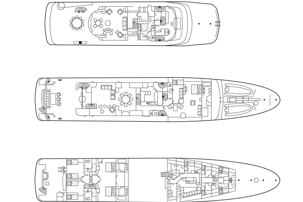 Motor Yacht MARLA - Layout