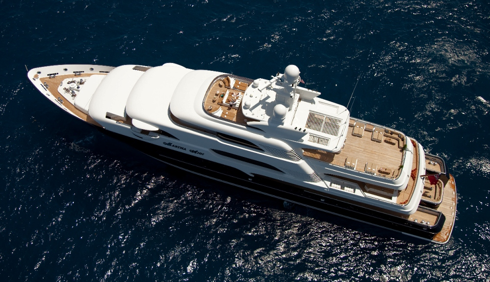 Motor Yacht MARTHA ANN - Aerial