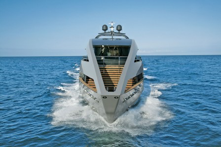 Motor Yacht OCEAN EMERALD - bow