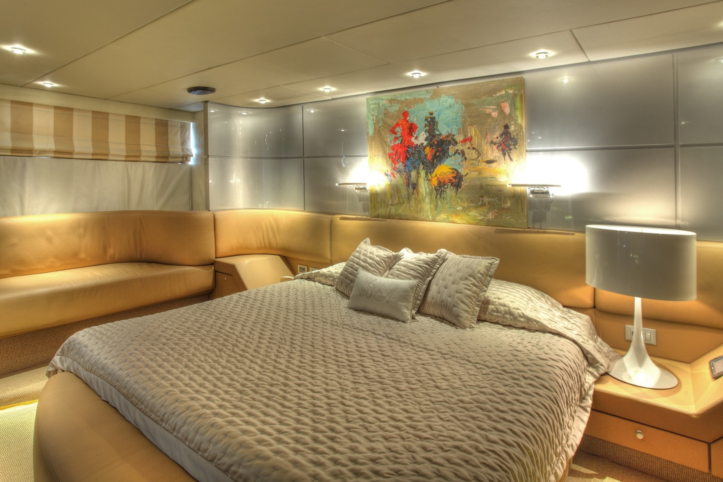 Motor Yacht PANDION - Master suite