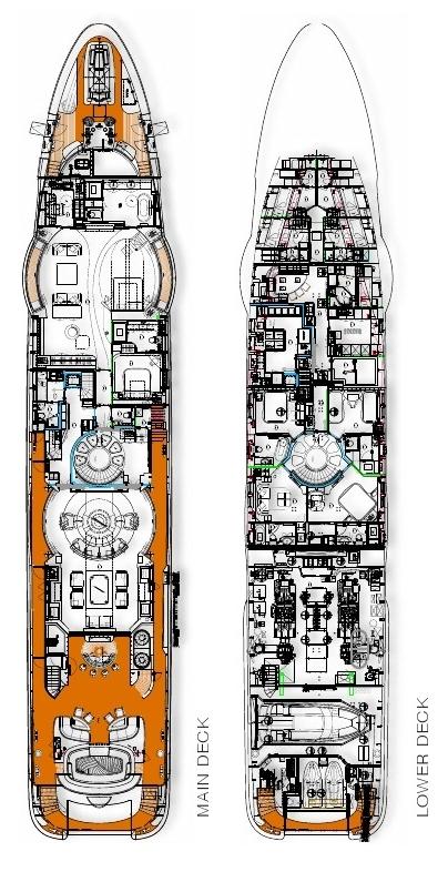 Motor Yacht Quinta Essentia -  Layout 2