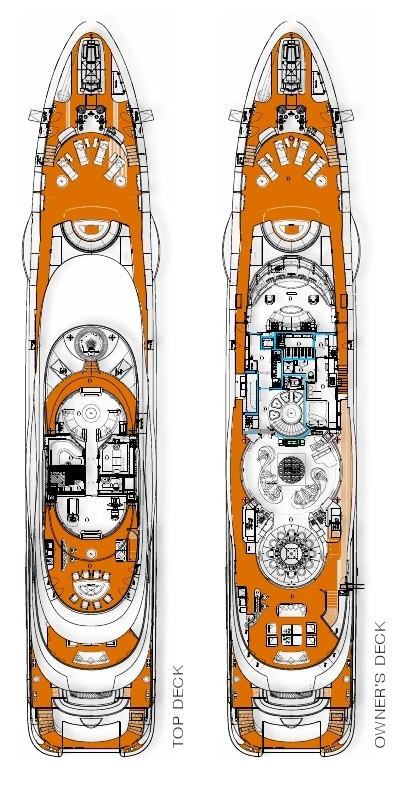 Motor Yacht Quinta Essentia -  Layout