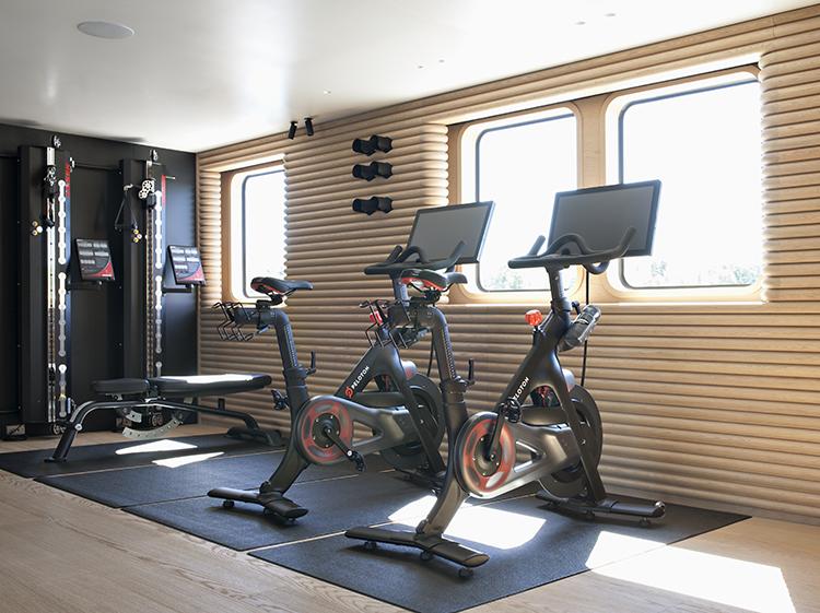 Motor Yacht RH3 - Gym