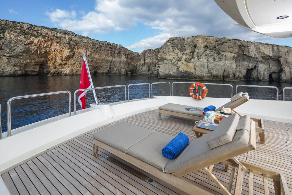 Motor Yacht RINI -  Chaise lounges