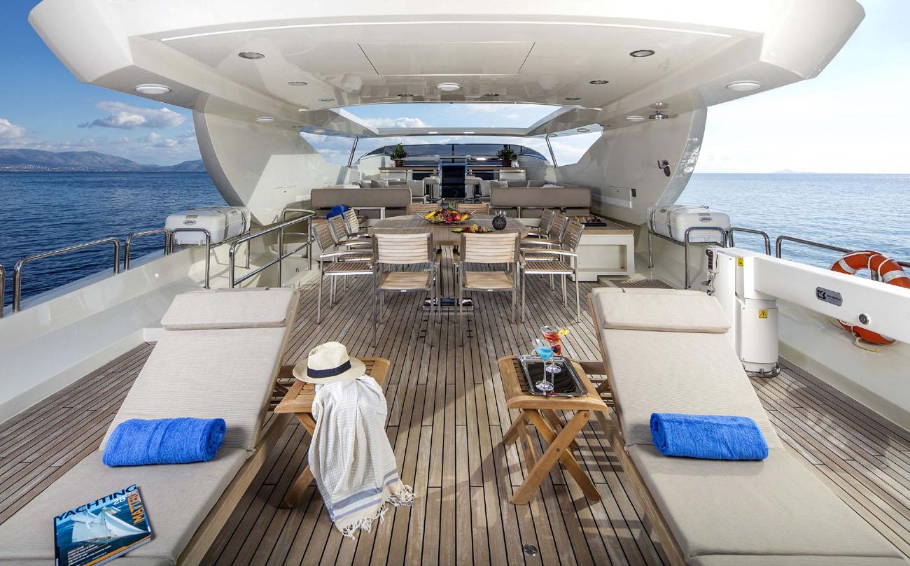 Motor Yacht RINI -  Sundeck