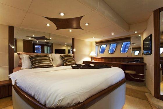 Motor Yacht Rej -  Master Cabin