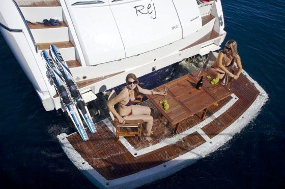 Motor Yacht Rej - Swim Platform – Luxury Yacht Browser | by