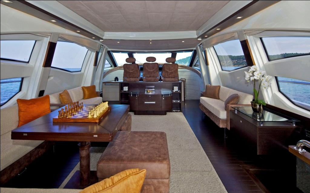 Motor Yacht THEA -  Salon looking forward