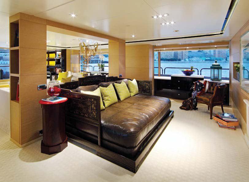 Motor Yacht TOLD U SO -  Master Cabin
