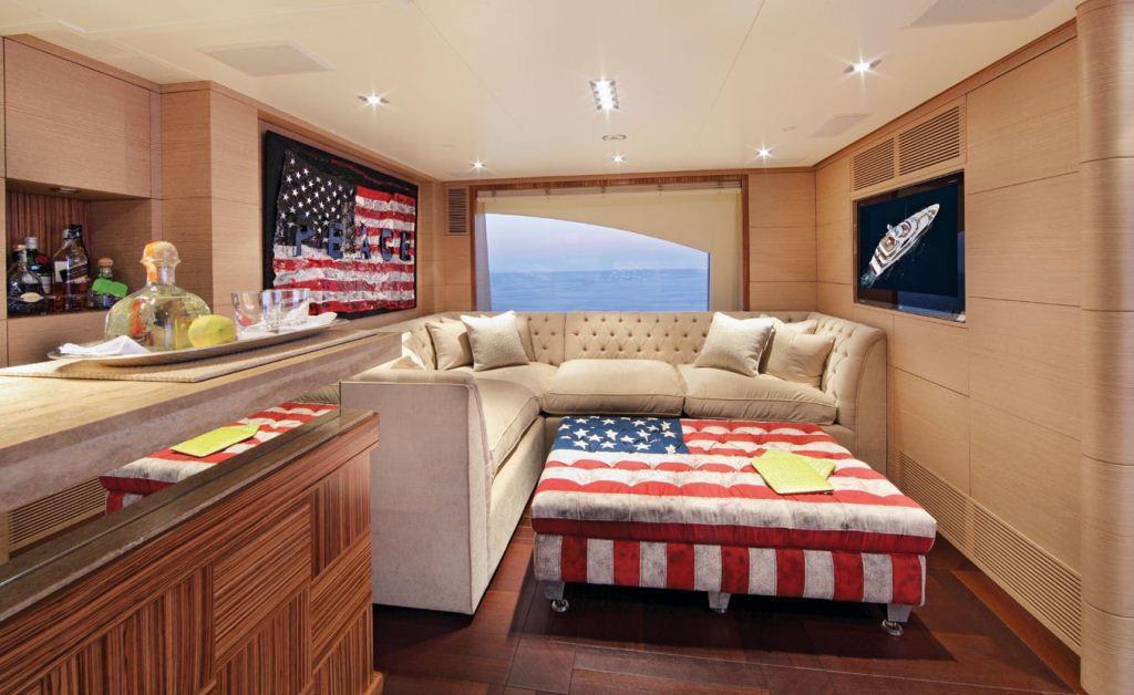 Motor Yacht TOLD U SO -  Upper Deck Salon