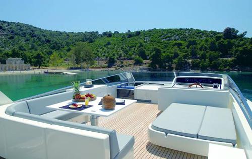 Motor yacht ALTAIR -  Flybridge