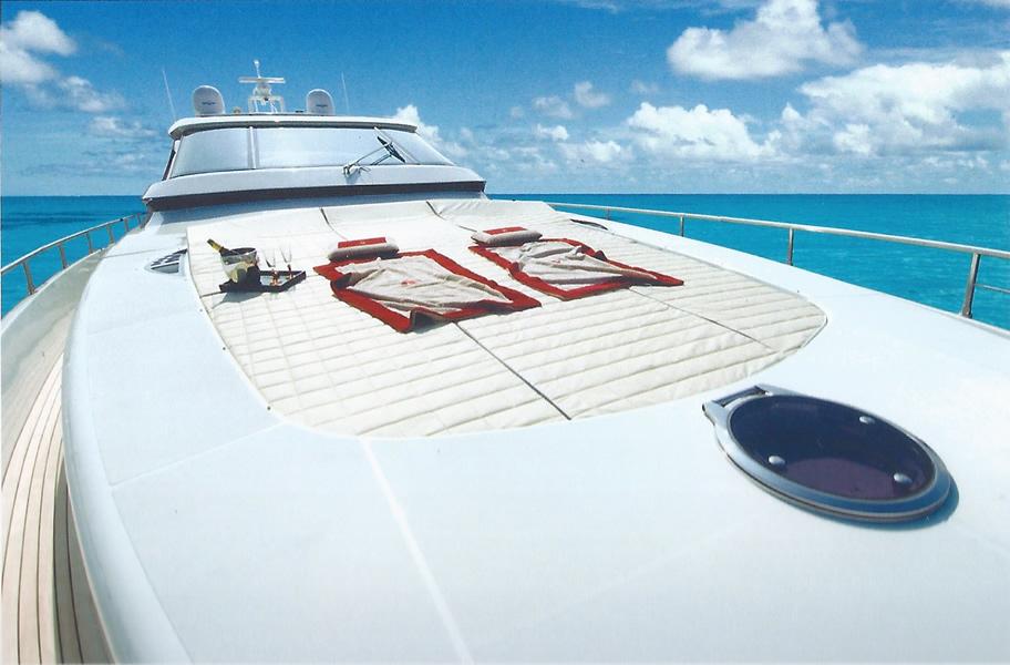 Motor yacht AMIR III - Foredeck Sunpads