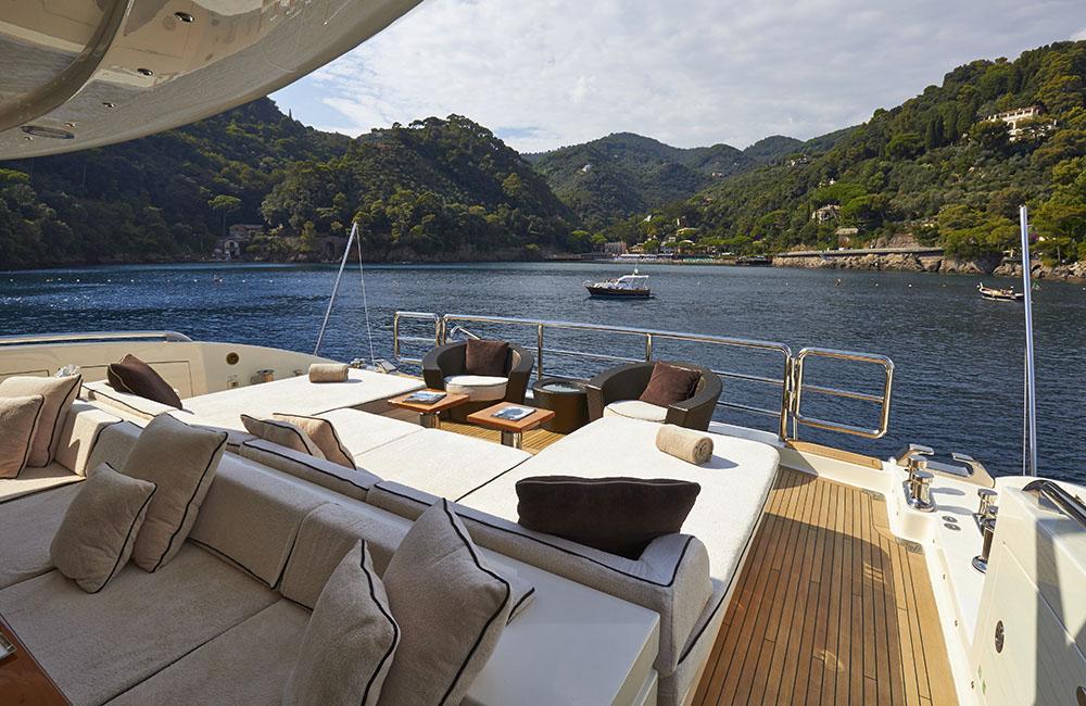 Motor yacht ANTELOPE III - Aft Deck Sunpads