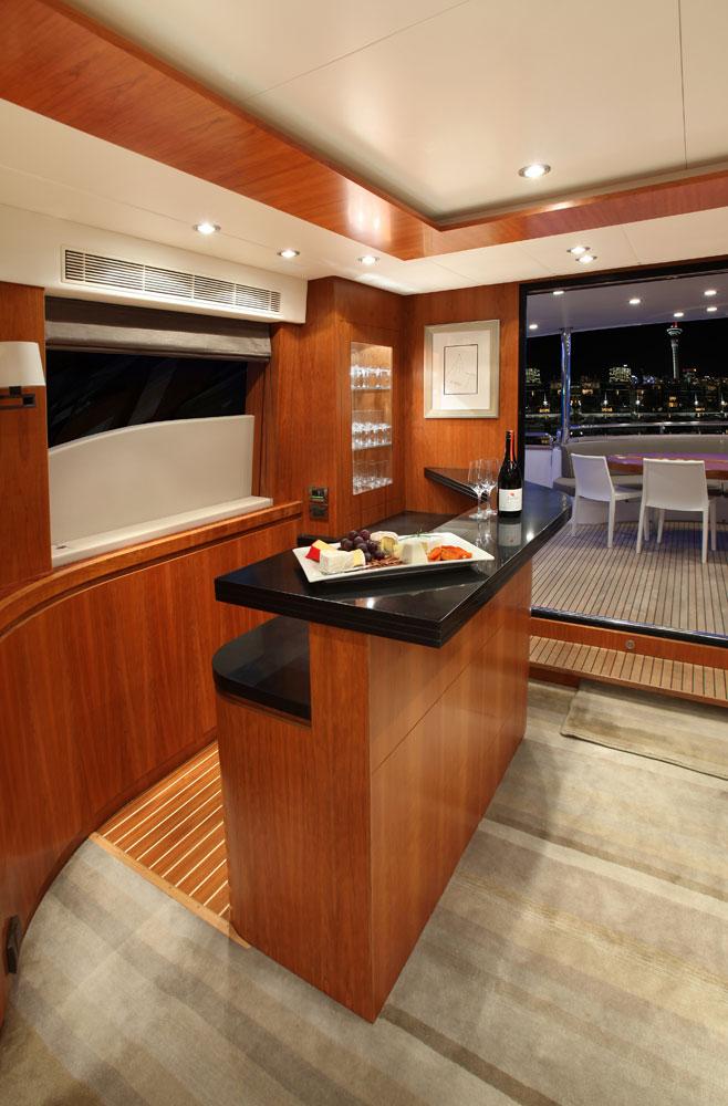 Motor yacht AQUARIUS - Bar