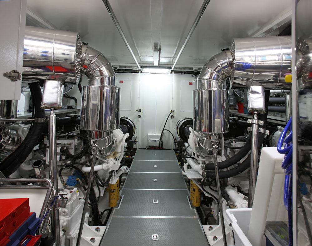Motor yacht AQUARIUS - Engine