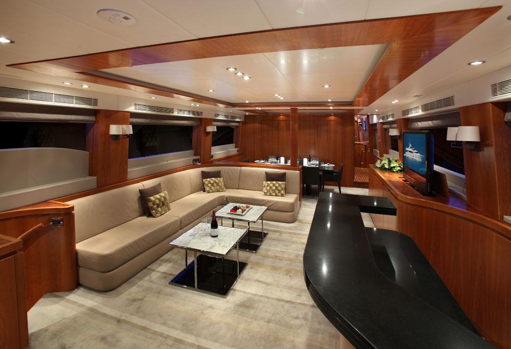 Motor yacht AQUARIUS - Main Salon