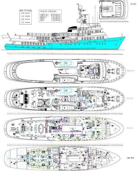 Motor yacht ASTERIA -  Layout