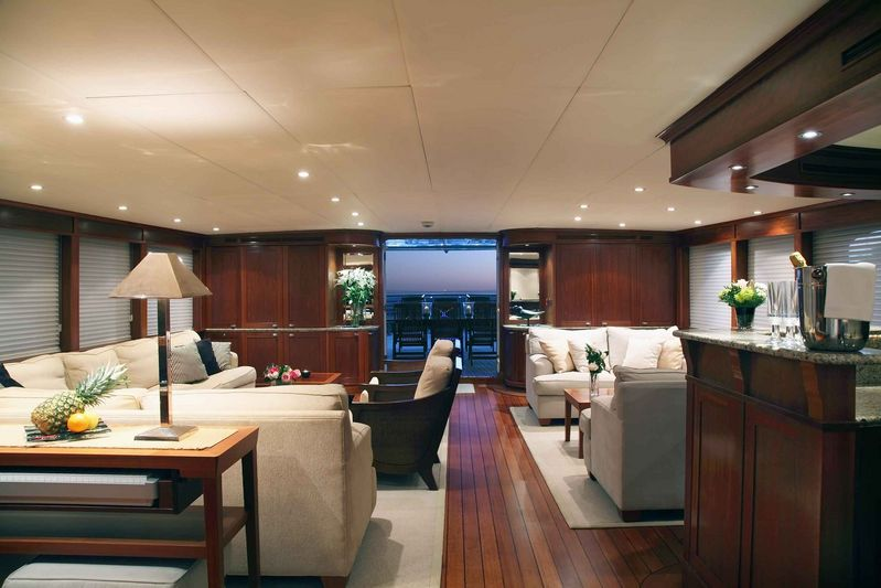 Motor yacht ASTERIA -  Main Salon 2