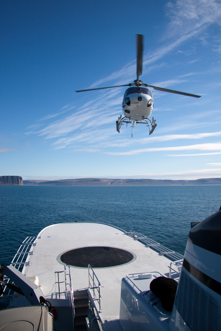Motor yacht ASTERIA -  Optional Helicopter