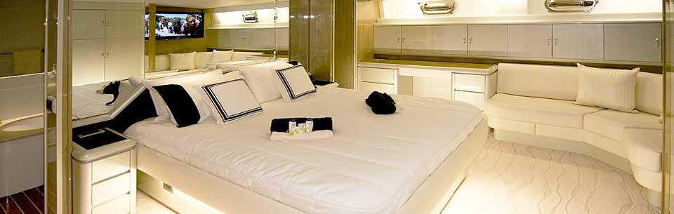 Motor yacht AUSPRO -  Master Cabin