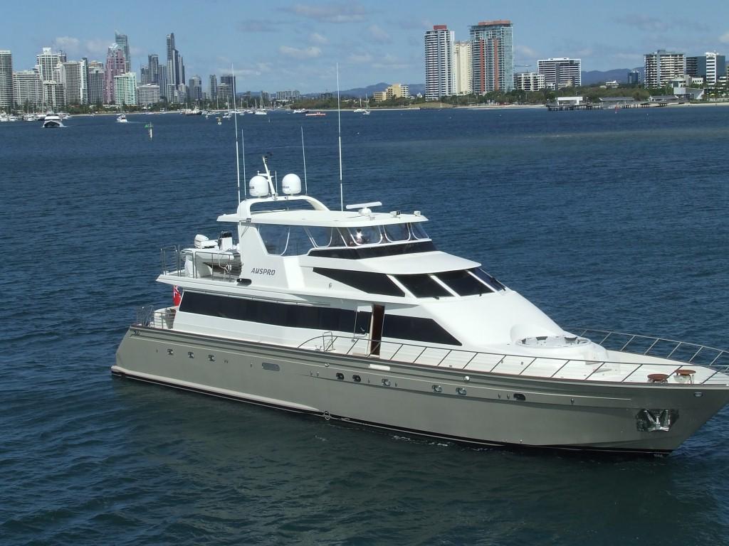 Motor yacht AUSPRO -  On Charter
