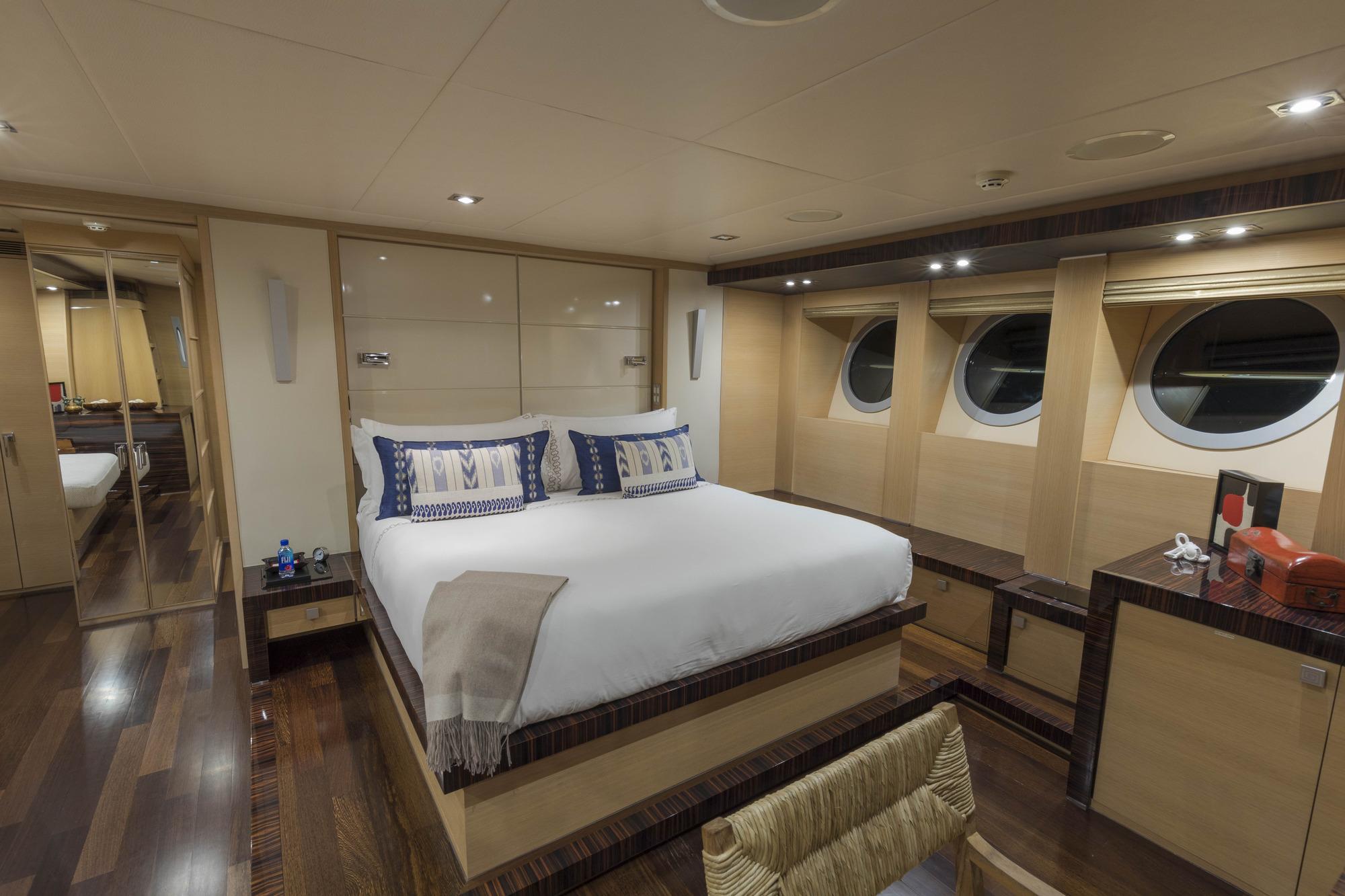 Motor yacht BW - Master stateroom