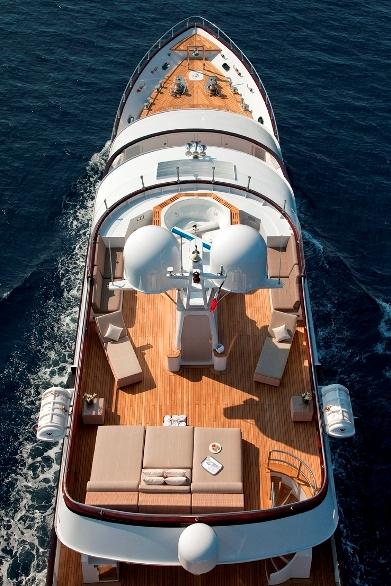 Motor yacht CALLISTA -   From Above
