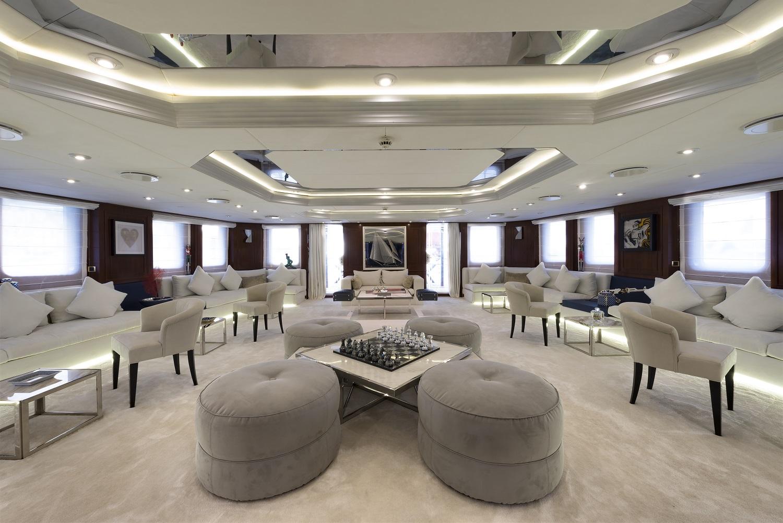 Motor yacht CHAKRA - Salon