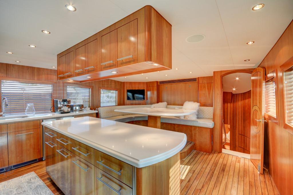 Motor yacht CRESCENDO - Galley