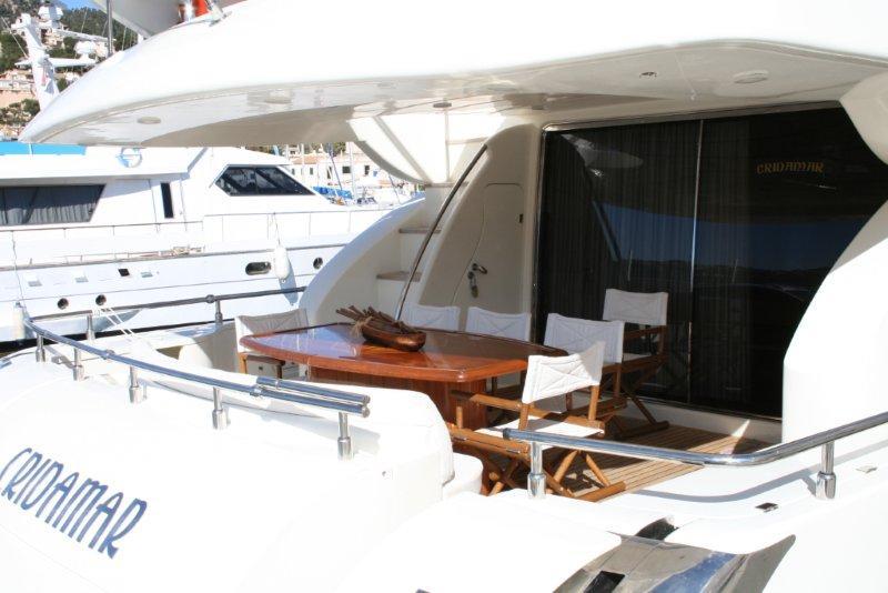 Motor yacht CRIDAMAR -  Aft Deck