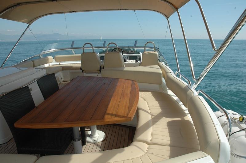 Motor yacht D5 -  Flybridge
