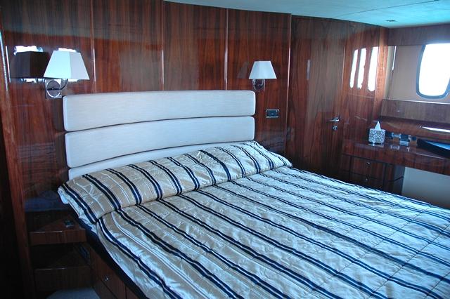 Motor yacht D5 -  Master Cabin